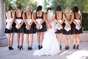 Could you afford to be a bridesmaid? Via Shutterstock.