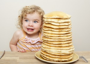 Today only, you can score FREE pancakes at IHOP! Via Shutterstock.