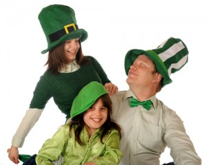 How do you celebrate St. Patrick's day with your family? Via Shutterstock.