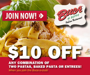 $10 Off Pasta + 2 Off Colgate Coupon