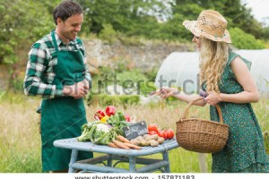 Saving money on produce is as easy as getting to know your local farmer. Via Shutterstock
