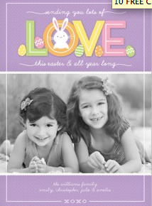 Today you can score 10 FREE custom photo greeting cards from Shutterfly!