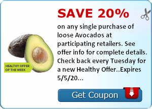20% Off Avocados + $1 Off Barilla Pasta