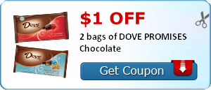 Cash for Surveys + $1 Off Dove Chocolate Coupons