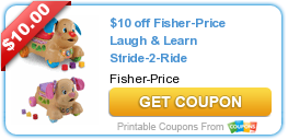 Exclusive Travel Deals + $10 Off Fisher-Price Laugh & Learn Stride-2-Ride Coupon