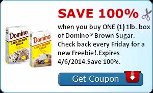 Bing Rewards Offer + Free Domino Brown Sugar Coupon