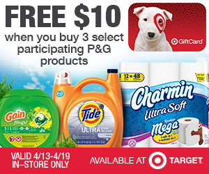 Free $10 with P&G Purchase + $1 Off Listerine Coupon