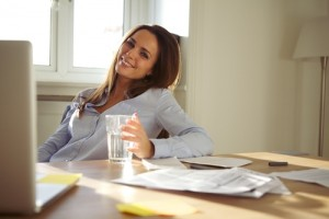Does working from home save you money? Via Shutterstock.