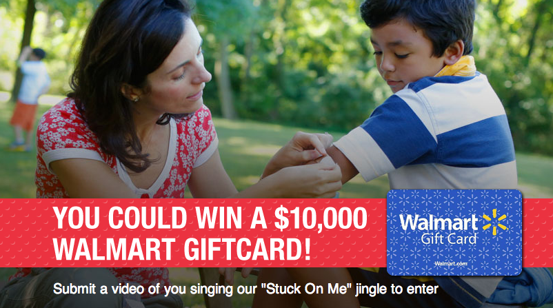 "BAND-AID®  ""Stuck on Me"" Video Contest"