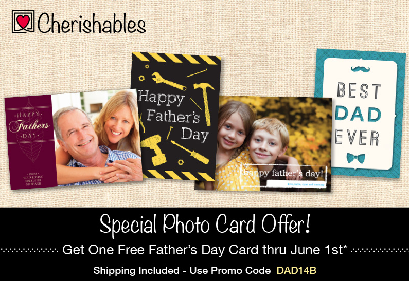 Tuesday Freebies – Free Personalized Father's Day Card