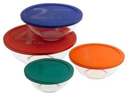 Highly Rated Pyrex Mixing Bowl Set Under $15!