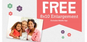 Score a FREE 8x10 photo print from Walgreens today!