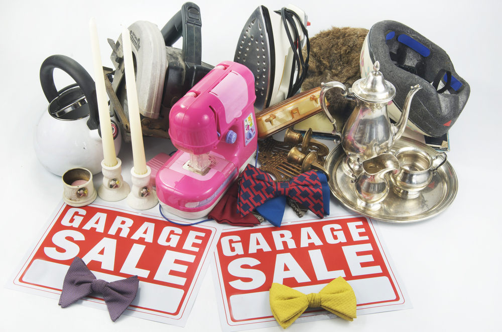What Not to Buy at Garage Sales