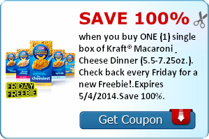 All-In-One Mother's Day Deal + Free Kraft Macaroni & Cheese Coupon