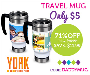 Custom Photo Mug for $5 + $1 Off Garnier Cleanser Coupon