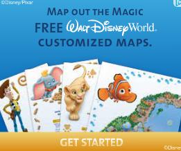 Free Custom Disney Maps!