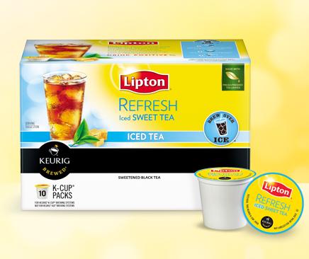 Thursday Freebies – Lipton K-Cups Sample