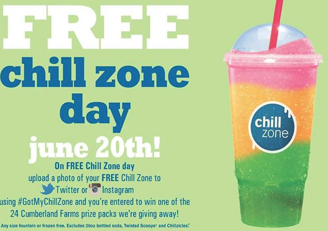 Friday Freebies – Free Chill Zone Day