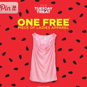 Sears Outlet: Free Ladies Apparel Item – Today Only!