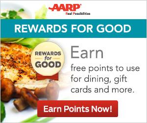 AARP – Rewards for Good!