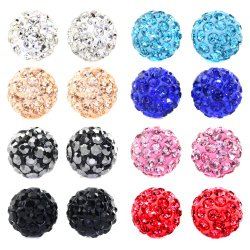 8 Pairs Of Stud Earrings for Under $15!