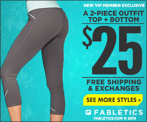 50% Off Your First Fabletics Outfit!