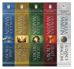 Game Of Thrones 5 Book Set Only $19.99!