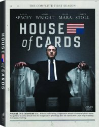 House of Cards DVD 70% Off