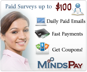 MindsPay: Surveys for Cash!