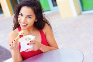 Score B1G1 Free frozen yogurt at Orange Leaf today! Via Shutterstock.