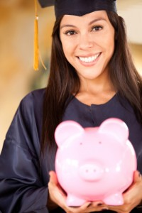 Are college grads saving responsibly or spending thoughtlessly? Via Shutterstock.