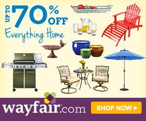 70% Off at Wayfair.com!