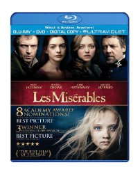 Les Miserables Blu-Ray & DVD Only $8.99!