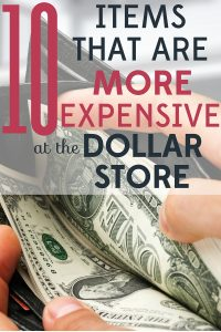 Looking for bargains on everyday items? The dollar store is a great place to start. But you should know that some items are actually more expensive at the dollar store.