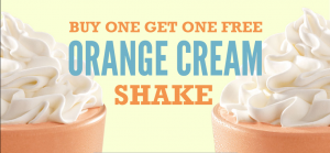Score BOGO shakes today at Arbys!