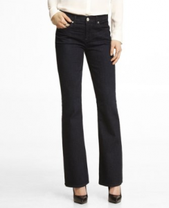 Mid Rise Boot Cut Jean $79.90!