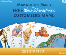 Free Customized Disney Maps!