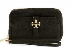 Tory Burch 'Plaque' Smartphone Wristlet on sale for $116.90 (reg $175.00).