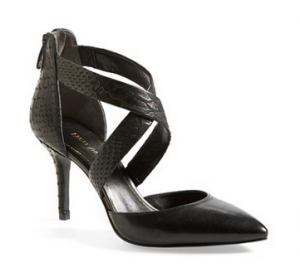 Enzo Angiolini 'Coadi' Cross Strap Pointy Toe Pump on sale for $79.99 reg ($119.95!)