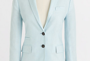 Factory Keating Boy Blazer in Linen on sale for $84.99 (reg. $145!).