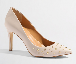 Factory Isabelle Studded Pumps on sale for $68.99 (reg. $138!).
