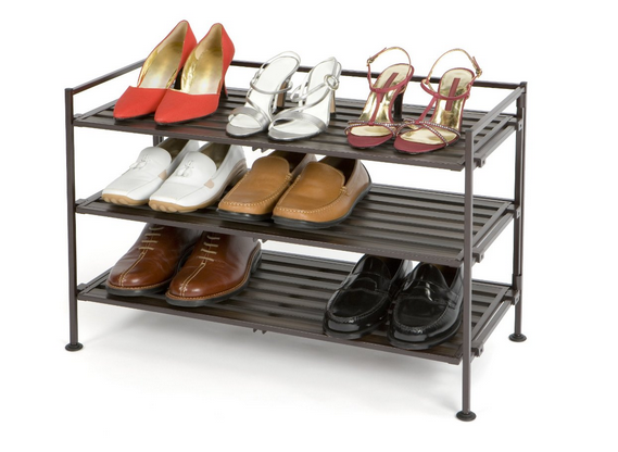 Highly Rated Shoe Rack Only $29.99!