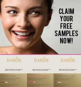 Score FREE luxury skincare samples today!