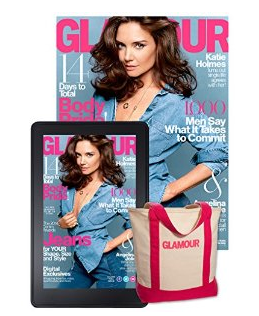 $6 Glamour Magazine Subscription and Summer Tote Set