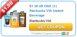 Coupons: Starbucks, Carvel, Tropicana and More!