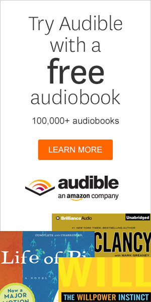 Friday Freebies-2 Free Audio Books from Audible with Trial