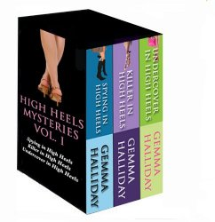 Highly Rated High Heels Mysteries Book Set Only $0.99!