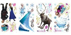Highly Rated Frozen Wall Decals Only $11.90!