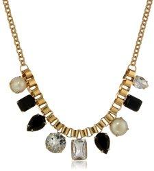 "Kate Spade New York ""Boardwalk Stroll"" Black Short Necklace, 18."" On sale for $62.72 (reg. $128!)."