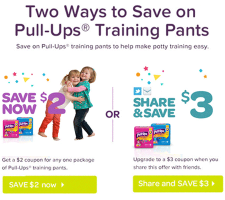 $2 Off Pull-Ups Coupon!